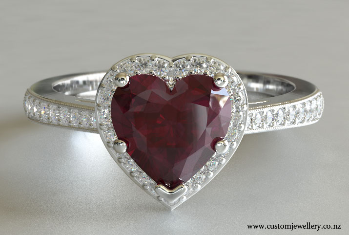 Heart Shaped Engagement Rings Reveal The Timeless Mysteries Of Love