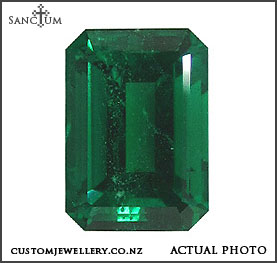 emerald cut emerald solitaire engagement ring new zealand
